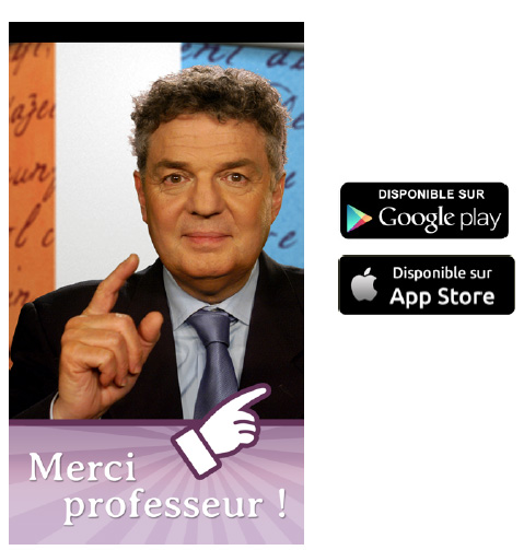 "TV5MONDE lance son application mobile "" Merci Professeur ! """