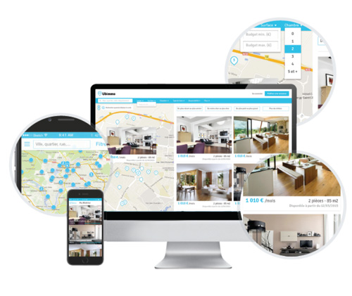 Ubimmo, l'application qui veut révolutionner la location immobilière
