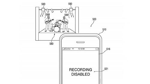 Apple dépose un brevet pour empêcher les smartphones de prendre des photos et des vidéos