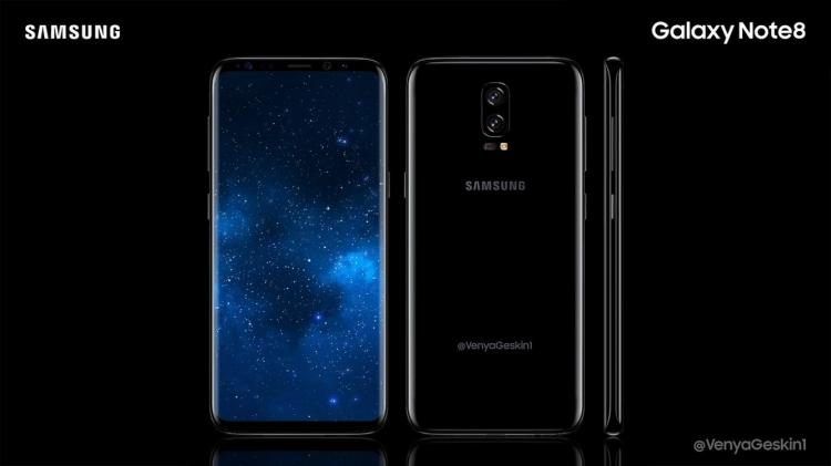 Samsung continue dans le haut de gamme avec le Galaxy Note 8