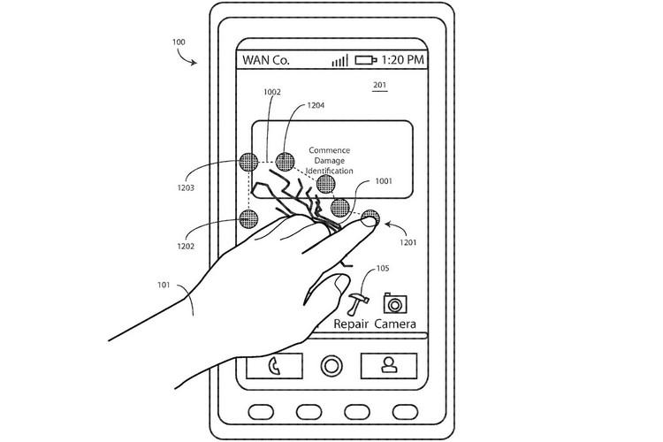 Motorola met au point un écran de smartphone capable de s'autoréparer