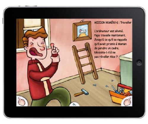 """""""Un papa à tout faire"""" : un livre interactif pour les enfants"""