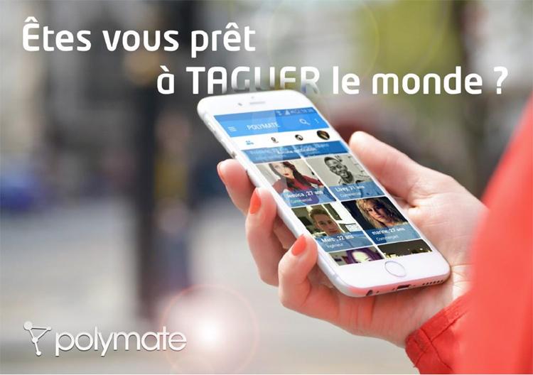 Polymate, un Facebook français géolocalisé qui rémunère ses utilisateurs