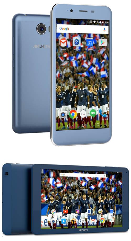Archos lance un smartphone et une tablette pour supporter les Bleus