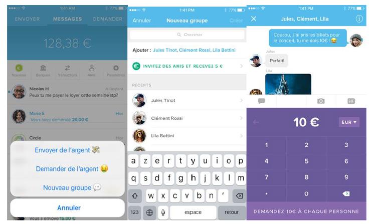 Circle Pay, une application qui permet d'envoyer de l'argent aussi facilement qu'un SMS