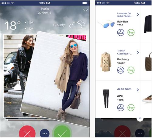 Mysprezz, une nouvelle application mode et météo sur iPhone