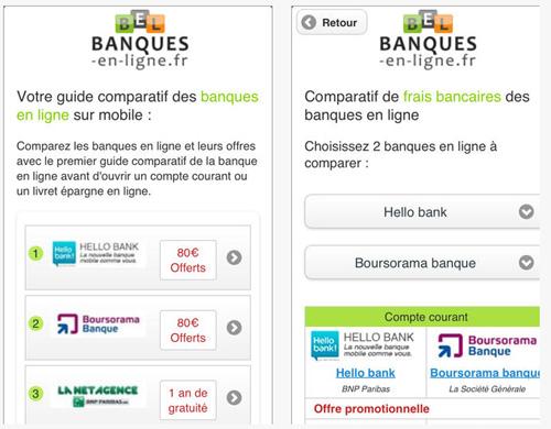Une application pour faciliter l'accès rapide aux tarifs bancaires en vigueur