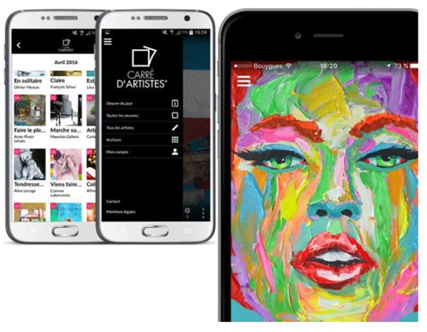Découvrez une oeuvre d'art chaque jour sur votre smartphone en fond d'écran