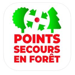 Une application qui facilite l'accès aux points de rencontre en milieu forestier