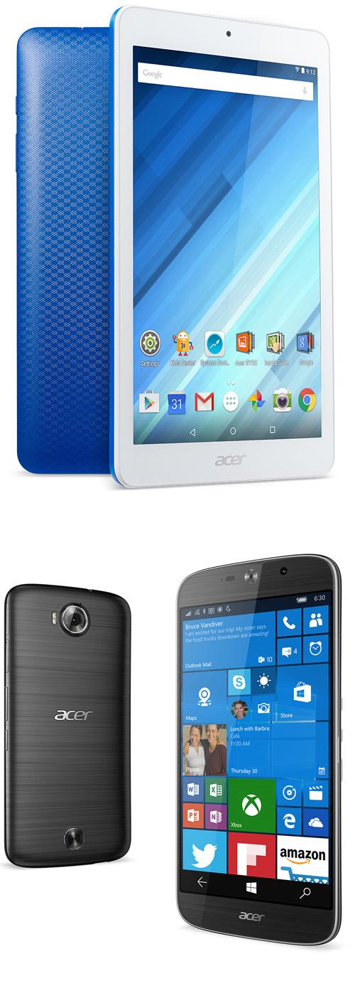 Acer va lancer une tablette Android 8 pouces et un smartphone Liquid Jade Primo PC
