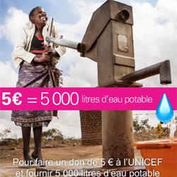 Votre téléphone peut aider l'UNICEF à sauver des vies