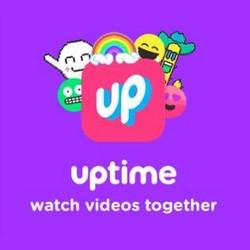 Uptime : regarder des vidéos en même temps que ses contacts