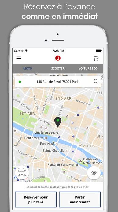 Commander un Taxi Moto ou un VTC depuis une seule application
