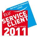 Virgin Mobile est élu Service Client de l'Année 2011