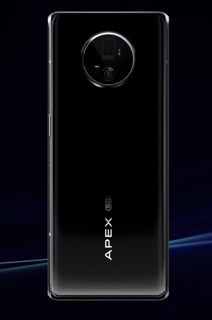 Vivo APEX 2020, un smartphone au design futuriste avec un capteur sous l'écran