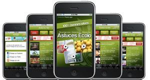 VODemotion dévoile l'application iPhone Ecolo Pocket