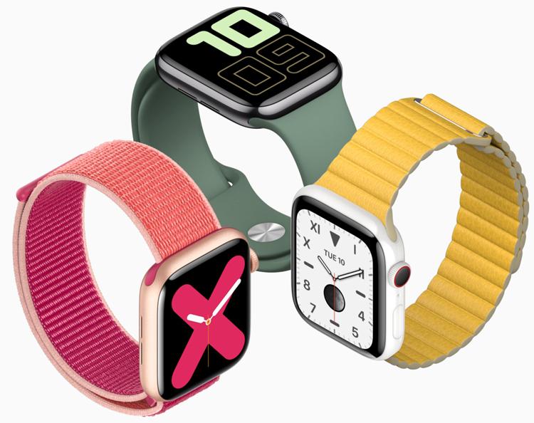 Watch Series 5 : la nouvelle montre d'Apple aura toujours l'écran allumé