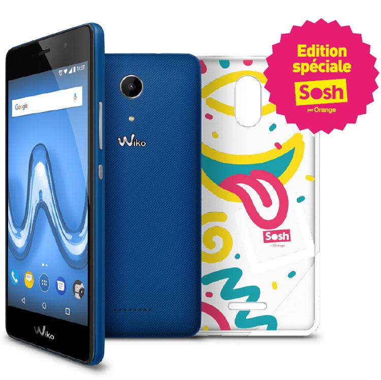 Wiko lance son smartphone Tommy 2 réservé aux clients Sosh
