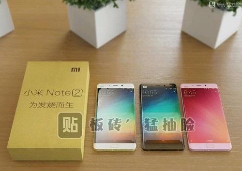 Deux versions pour le Xiaomi Mi Note 2