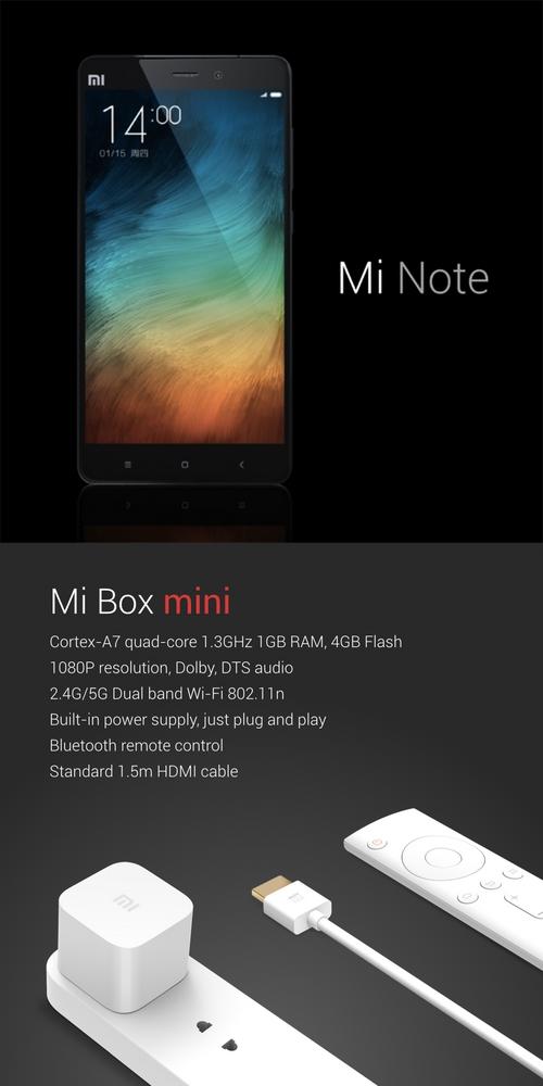 Xiaomi veut concurrencer l'iPhone 6 avec deux nouveaux modèles
