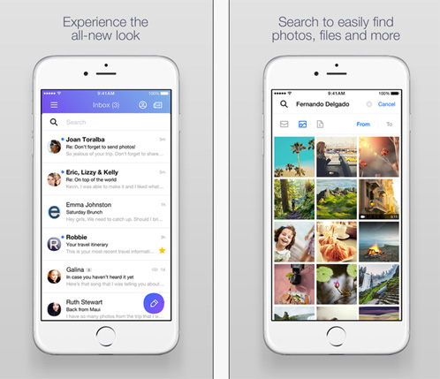 Yahoo : une nouvelle version de son application Yahoo Mail voit le jour