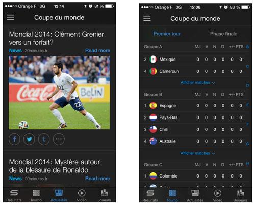 Yahoo lance l'application Yahoo Sport en France