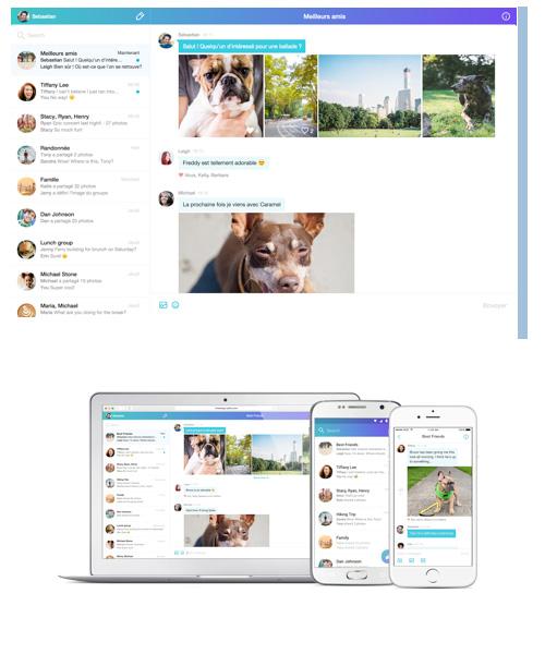 Yahoo Messenger s'offre un lifting sur iOS et Android