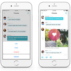 Yahoo Messenger, iOS, Android