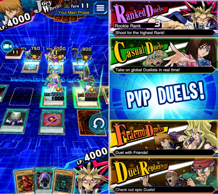 Yu-Gi-Oh! Duel Links est disponible en Europe sur iOS et Android