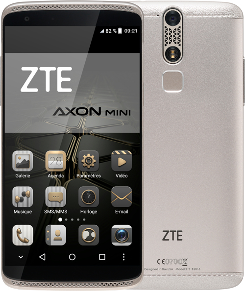 Le ZTE Axon Mini est  disponible en France