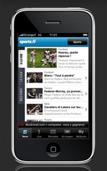 Restez informé sur l'actualité sportive avec votre iPhone