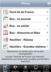 RATP Premium : des informations sur les transports en commun d'île-de-France sur l'iPhone
