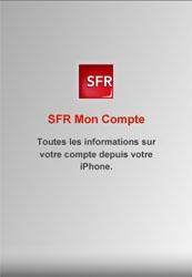 SFR Mon Compte : consultez les informations de votre compte directement sur l'iPhone