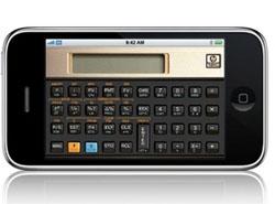 HP lance des calculatrices scientifiques sur l'iPhone