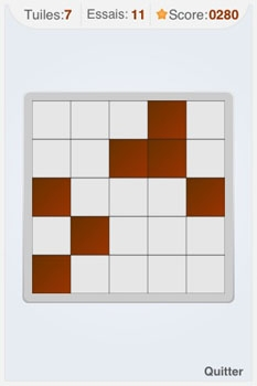 Memory Matrix  :  un jeu d'entraînement cérébral gratuit