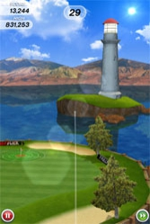 Flick Golf : un jeu de golf original pour l'iPhone