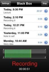Black-Box : un logiciel qui enregistre des conversations