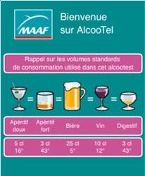 Alcootel : une application qui calcule le taux d'alcoolémie des automobilistes