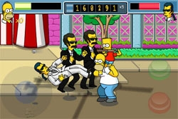 Une version gratuite des Simpsons est disponible