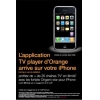 La TV d'Orange pour l'iPhone sera disponible le 7 avril
